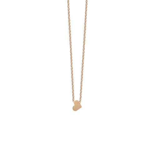 GOLD NECKLACE 'HEART'